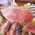 92996329 - 肉バル 特製肉盛りプレート