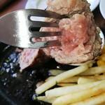 92996359 - 肉バル 自慢手ごね ハンバーグプレート