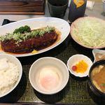 うれし - 上みそひれかつ膳肉170g 1,900円