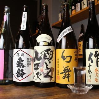 入手困難な銘柄もあり!厳選日本酒充実◎お酒はどれも高コスパ!