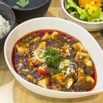 YoTsuBa - ◇「四川麻婆豆腐ランチ」◇(副菜・ごはん・日替わりスープ・サラダ・デザート付き)