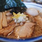 Omotenashi Noodles よこじ - 特製背脂煮干そば☆