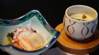 ながた寿し - 寿司豪華コース 酢の物