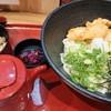 手打ちうどん 海士麺蔵 - 料理写真:鶏天だし醤油うどんとたこ飯