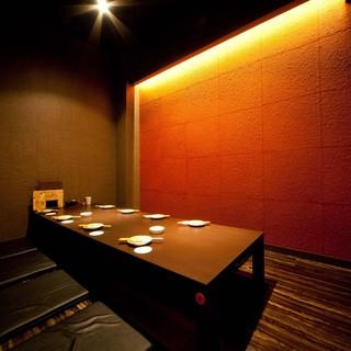 個室空間でゆったりお食事をお楽しみいただけます。