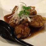 あっとほーむ中華ダイニング 剋 - 黒酢の酢豚