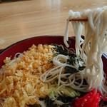 藤源 - 色白細身のお蕎麦