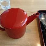 藤源 - 蕎麦湯もたっぷり