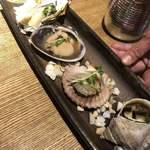 貝料理専門店 貝しぐれ - 貝四種盛り