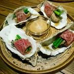 肉バルGAM - 牡蠣肉(2個980円)
