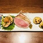 手打ち蕎麦 ほかげ - 料理写真:酒肴三種盛り