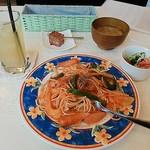 ルーン・カフェ - 料理写真:ナポリタンセット