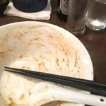 汁なし専門 男のLL - 空丼でお目汚しすみません、美味しく頂きました!
