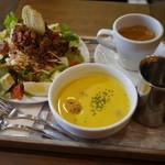 ピット21 カフェ - 料理写真:タコライスセット