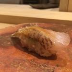 寿司処 しん - のどぐろの昆布締め握り