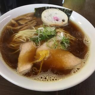 ラーメン 木曜日 - 料理写真:煮干ラーメン500円