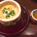 93015344 - 茶碗蒸し トラフグの雑炊