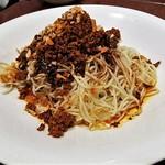 開花 香港海鮮バル - 汁なし冷やしカレー坦々麺