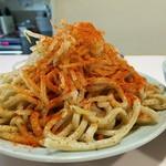 成蹊前ラーメン - 太麺はワシワシ系