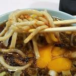 成蹊前ラーメン - 麺リフト