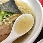 凡の風 - 丸くも厚みあるスープ (小田急新宿店「北海道物産展」)