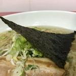 凡の風 - 立体的に盛り付けられた三角海苔 (小田急新宿店「北海道物産展」)