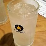 いせや - レモンサワー1