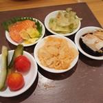mezonchainaumemoto - 前菜5種盛り合わせ