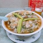 南京亭 - 料理写真:サンマーメン  たっぷりです!