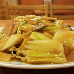 中国料理太湖飯店 - 横から五目焼きそば