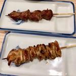 かぶら屋 - 串焼 ハラミ&シロ