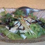 鈴の屋 - 塩昆布と豆腐のサラダ