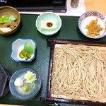 そば茶屋いきいき - そば定食(1050円税込)