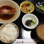 ふた葉 - 料理写真:金目鯛煮付け定食 920円 ほっこり和定食