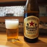 彦六鮓 - ビール