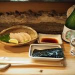 彦六鮓 - 料理写真:タイラギ貝 炙り