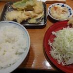 よし平 - よし平天ぷら膳(980円+税)