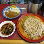 丹波屋 - ミニカレーセット(もりそば)