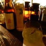 bar cacoi - シャインマスカットと新政の貴醸酒