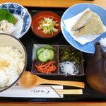 彩食亭やまだ - 冷汁(鯛みそ味の冷たいお茶漬け)