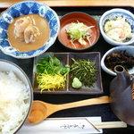 彩食亭やまだ - 鯛茶(胡麻風味)