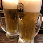 鉄なべ - 乾杯〜