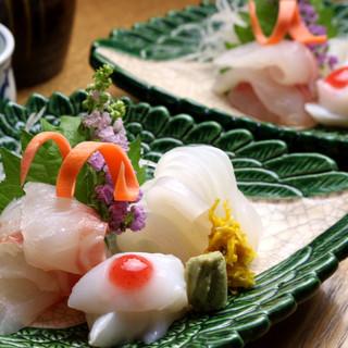 瀬戸内の天然魚を堪能◆本物と呼べる季節の御馳走をお届け―