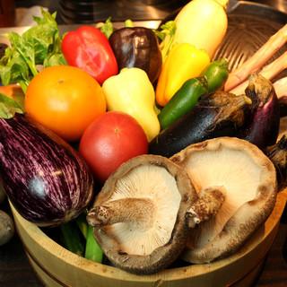 """野菜のプロから届く、採れたて新鮮な""""プレミアム野菜""""を味わう"""