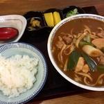 太田屋 - 料理写真:味噌煮込みランチ800円