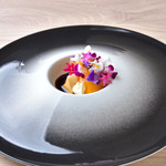 ラヴァンドール - 黄桃の花締め