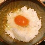 premium播鳥 - セットの卵かけごはん