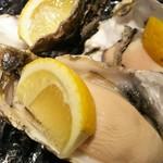 刺身BAR かぶきまぐろ - 生牡蠣