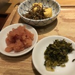 博多ふくいち - 明太子・高菜・小鉢