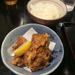 味見鶏まるめん - 唐揚げセット+310円